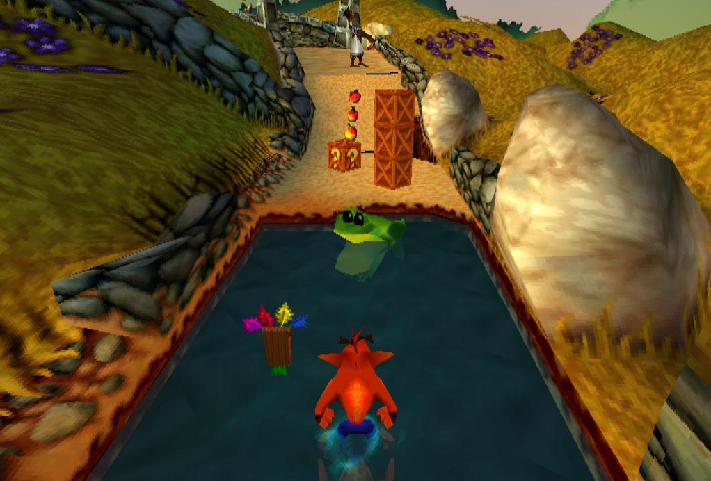 Game ps 1 Terbaikfor crash bandicoot ps 1